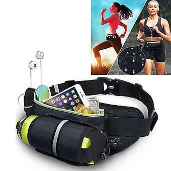 Sportbag väska med nyckel specialist vattenflaskor hållare JOGGER grundläggande väska Grün