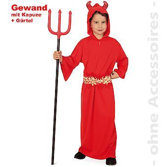 Devil kostym barn Satan djävulen djävul kostym barn kostym