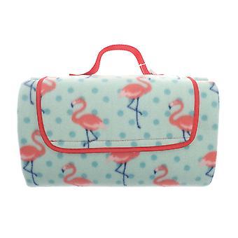 Country Club Picnic tæppe 130 x 150, Flamingo
