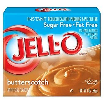 Jello suiker vrije Butterscotch, Instant Pudding & Pie vulling Mix