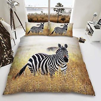 Zebra Duvet Cover Bedding Set
