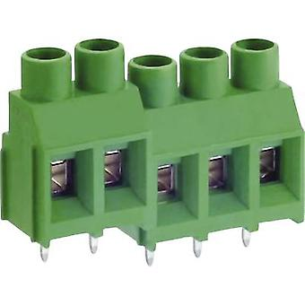 DECA MB912-762M03 Screw terminal 5.26 mm² Number of pins 3 Green 1 pc(s)