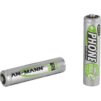 Ansmann DECT maxE HR03 AAA battery (rechargeable) NiMH 550 mAh 1.2 V 2 pc(s)