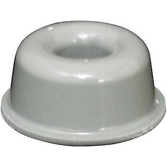 TOOLCRAFT PD2210G picior autoadezive, circular gri (Ø x H) 22,3 mm x 10,1 mm 1 buc (e)