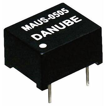 Danube MAUS-0505 DC/DC converter (print) 5 V DC 5 V DC 200 mA 1 W No. of outputs: 1 x