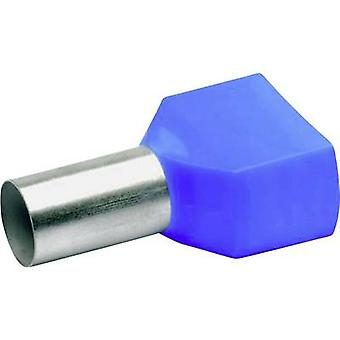Klauke 87714 Ferrule gêmeo 16 mm² Azul parcialmente isolado 100 pc(s)