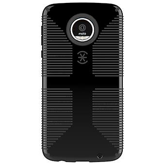 Speck Candyshell Grip Case for Moto Z Play Droid - Black/Black