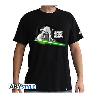 Yoda di Star Wars t-shirt me giudicare dalla mia taglia avete?