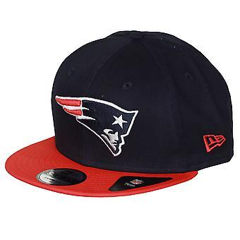 Contraste de la Nueva Era del equipo 9Fifty Snapback gorra ~ patriotas de Nueva Inglaterra