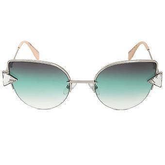 Fendi Rainbow cat Eye ochelari de soare FF0242S VGV QC 52