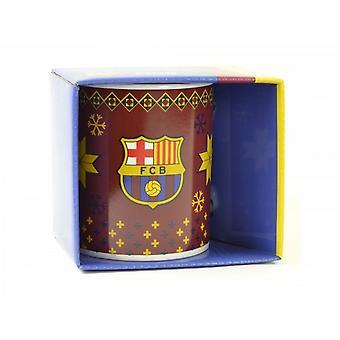 FC Barcelona Official Christmas Mug