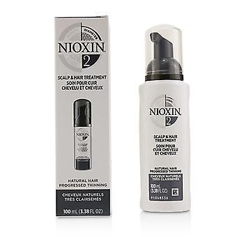 Nioxin Diameter System 2 Scalp & Hair Treatment (natural Hair Progressed Thinning) - 100ml/3.38oz