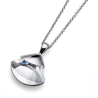 Oliver Weber Pendant Soil Rhodium Crystal