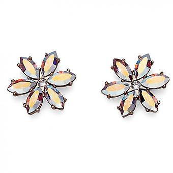 Oliver Weber Post Earring Artes Rhod Crystal