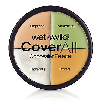 Natte n wild cover alle concealer palet 6, 5g