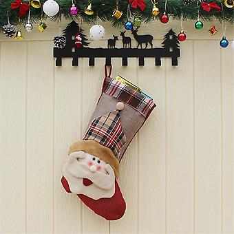 Christmas Stocking Christmas Stocking-Santa Claus