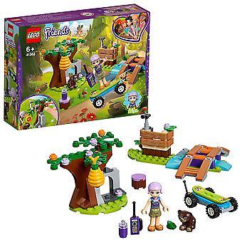 LEGO Friends 41363 Mia's Forest Adventure gebouw instellen