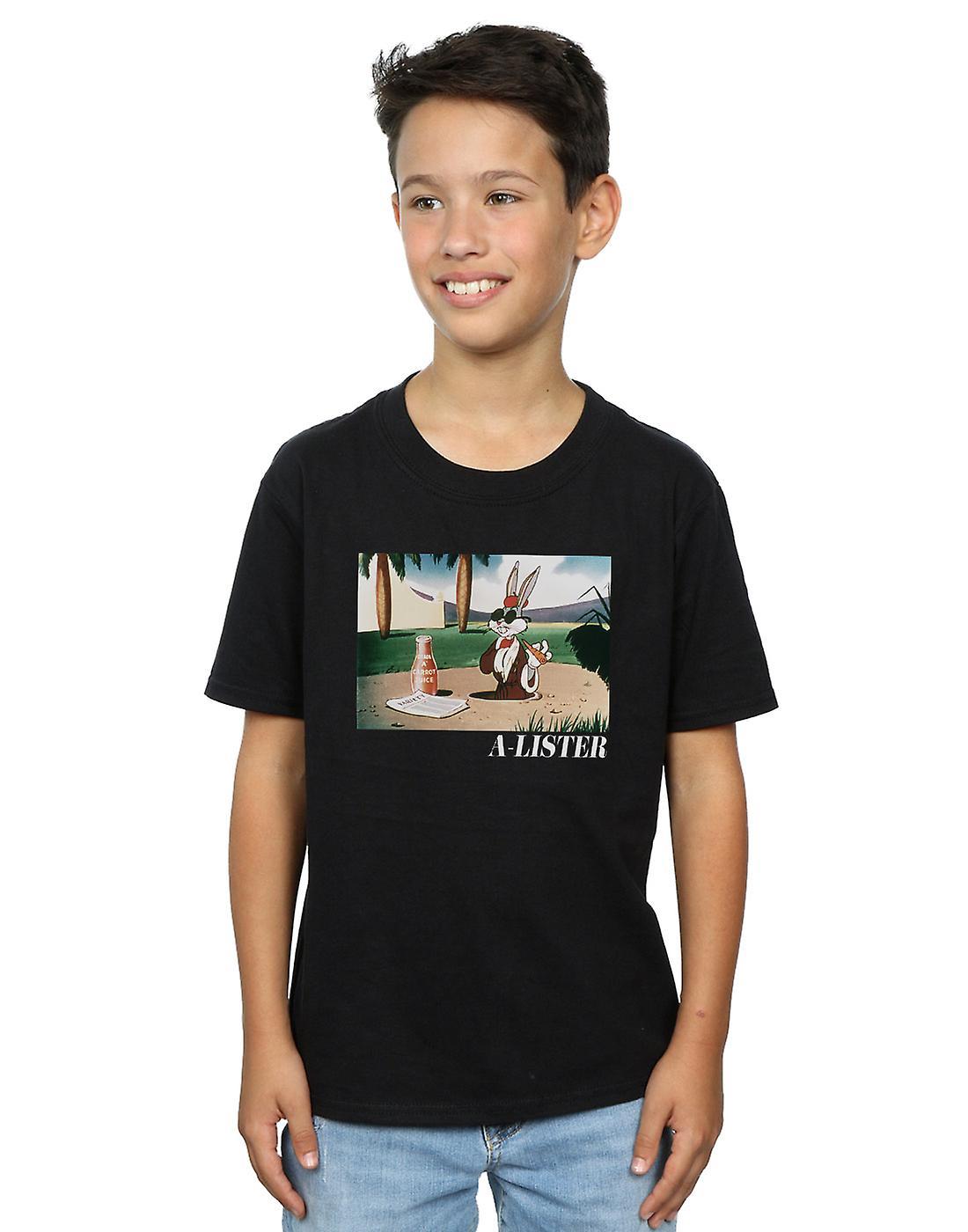 Looney Tunes Boys Bugs Bunny A-Lister T-Shirt