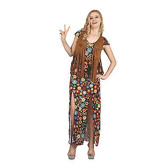 Hippy Dress (Long Dress + Waistcoat)