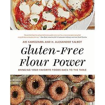 グルテン フリーの小麦粉パワー - タブに戻って、あなたの好きな食べ物をもたらす