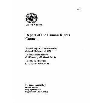 Rapport av rådet för mänskliga rättigheter - sjunde organisatoriska möte (1