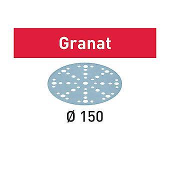 Disque abrasif Festool STF D1 50/48 P220 GR/100
