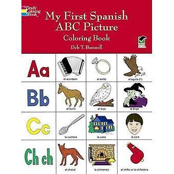 Meine erste spanische ABC Bild Malbuch