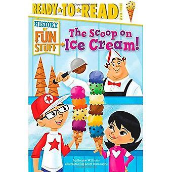 A colher no sorvete! (História de coisas divertidas)