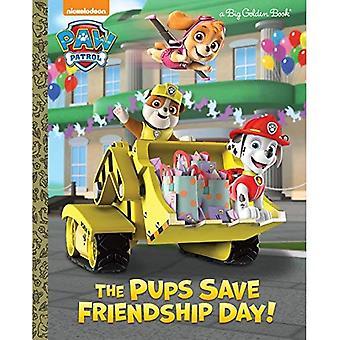 De Pups Bespaar dag van de vriendschap! (Grote gouden boek)
