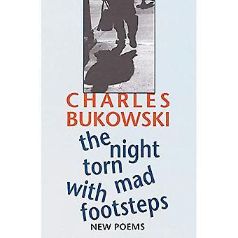 Natten slets Mad med fotspår: nya dikter