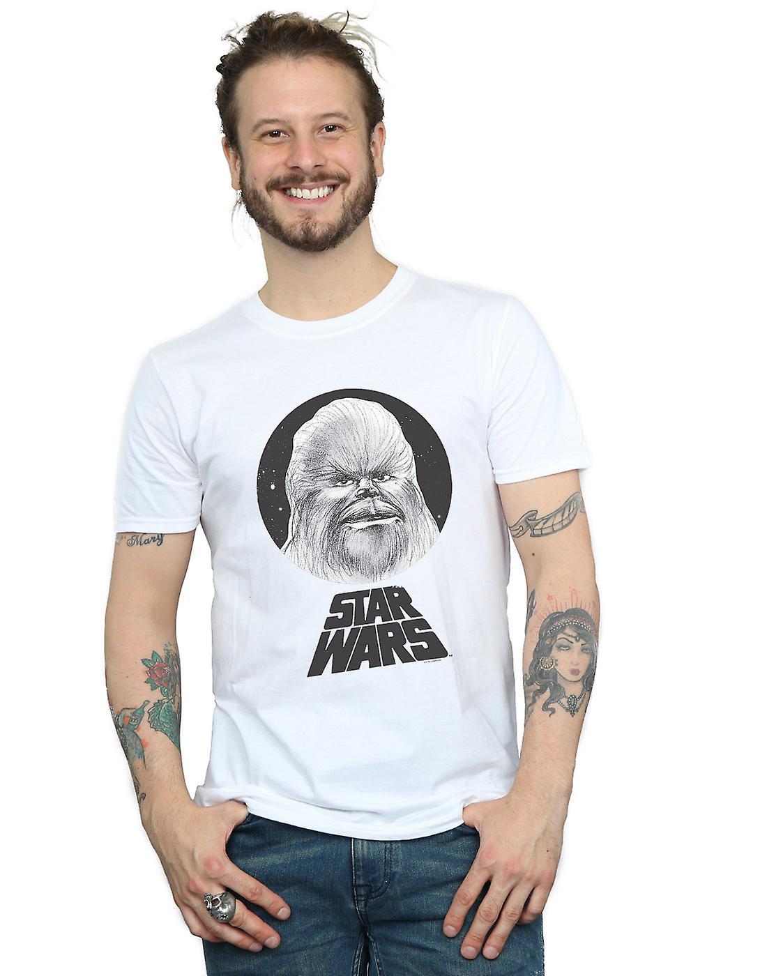 Star Wars Men's Chewbacca Sketch T-Shirt