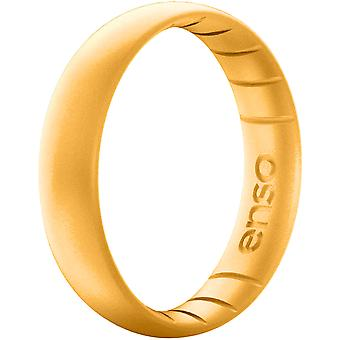 Enso Rings Thin Elements Series Silicone Ring - Gold
