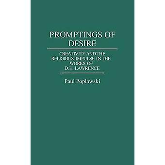 Impresiones de la creatividad del deseo y el impulso religioso en las obras de D. H. Lawrence por Poplawski y Pablo