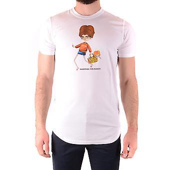 Dsquared2 Ezbc008138 Männer's weiße Baumwolle T-shirt