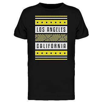 ロサンゼルス ・ カリフォルニア レトロ t シャツ メンズ-シャッターによる画像
