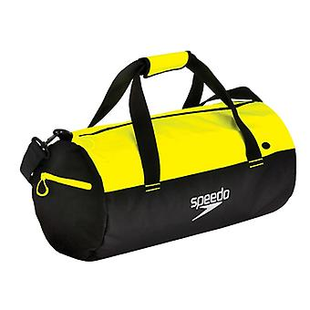 Speedo Unisex Adult Duffel Bag - Black/Fluo Yellow