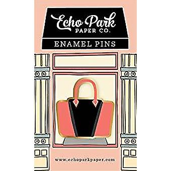 Echo Park Handbag Enamel Pin