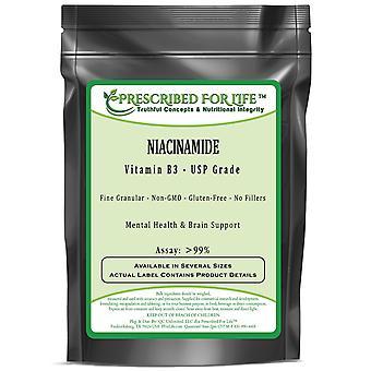 Niacinamide B-C - Vitamin B3 Powder - Fine Granular USP Grade