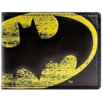 DC Comics Batman Light Symbol Coin & Card Bi-Fold Wallet
