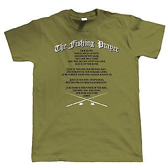 De visserij gebed, Mens grappig T Shirt | Grof Carp zee Match vliegen Specimen pakken vissers Hengelsport visser kleding | Cool verjaardag de Gift van Kerstmis presenteren hem vader man zoon