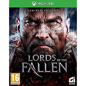 Páni z padlých limitních vydání Xbox jedna hra (německá krabice)