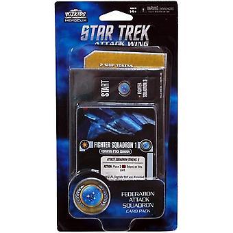 WizKids Star Trek Attack Wing Federation Attack Card Pack Wave 4