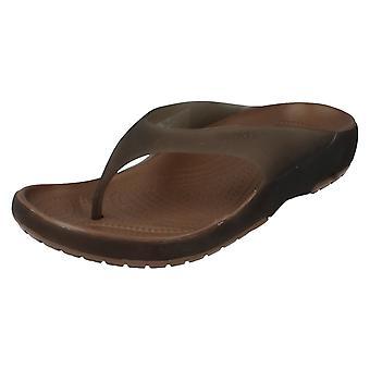 Ladies Crocs flip flops stil-Carlie flip kvinder