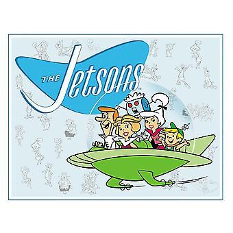 Jetsons Retro Tin Sign
