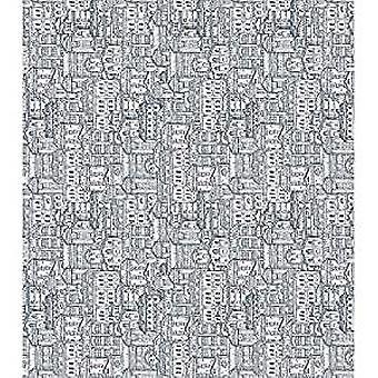 """Craft Consortium Decoupage Papers 13.75""""X15.75"""" 3/Pkg-Cityscape"""