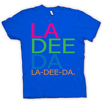 Mens T-shirt - Annie Hall La Dee Da - Funny