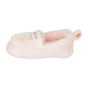 bebe الرضع الفتيات موكاسين النعال خفيفة الوزن الانزلاق على الأحذية