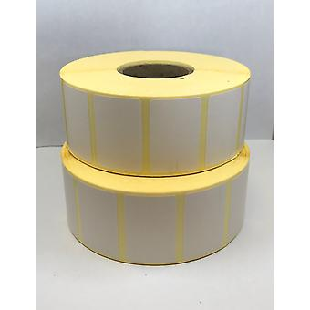 38mm x 25mm Thermal Transfer Labels