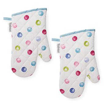 Cooksmart Spotty dotty szett 2 Gauntlets