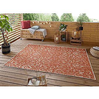 Design In- und Outdoor Teppich Hatta Terra Taupe